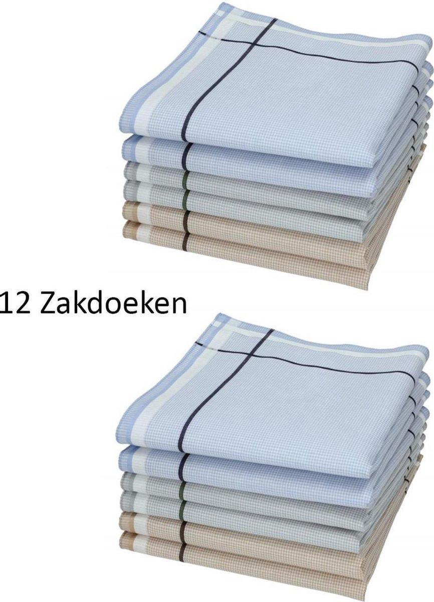 Sorprese - Zakdoeken - Heren - 12 zakdoeken