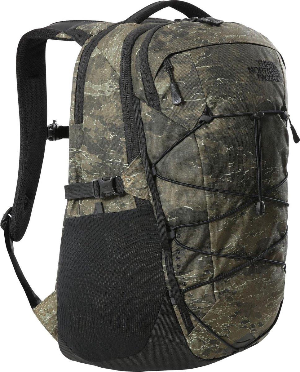 The North Face Backpack - Unisex - olijfgroen/zwart