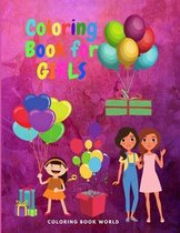 Coloring Book for Girls - Relaxation Coloring Pages