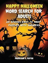Happy Halloween Word Search for Adults