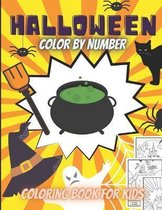 Halloween Color By Number For Kids