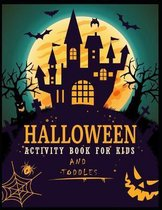 Halloween Activity Book For Kids And Toddles