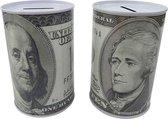 Spaarblik Dollar 12x8cm