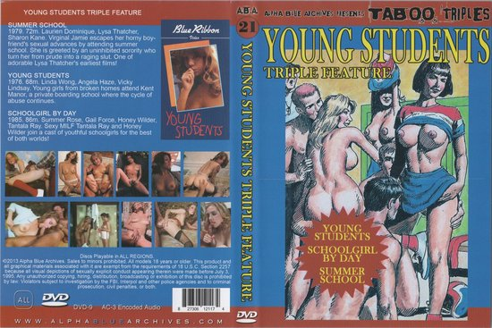 Alpha Blue Archives: Young Students - Triple Feature