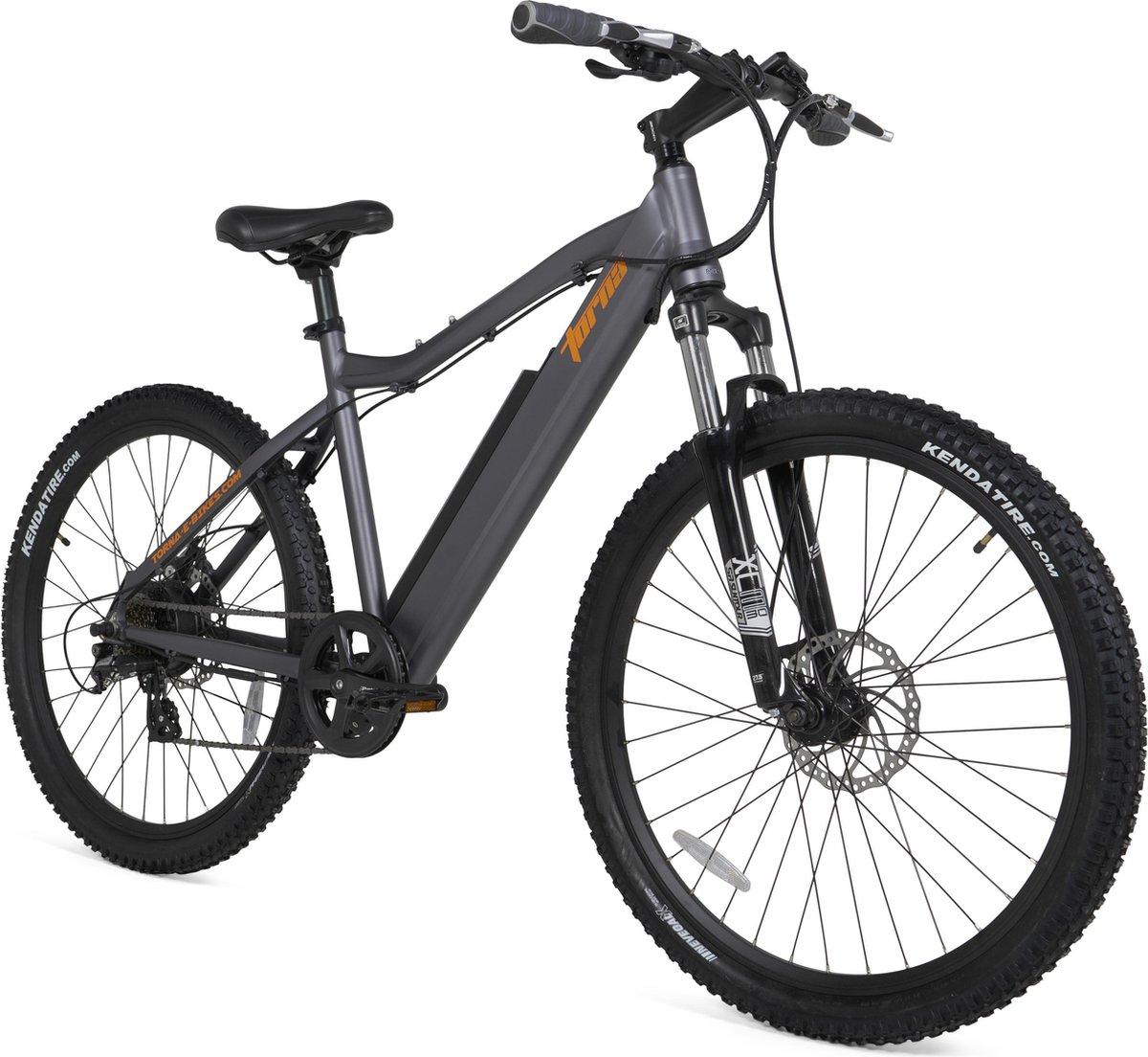 TORNA E-Bikes - CROSS - Mountainbike - Grijs - 19 inch - 27,5 inch