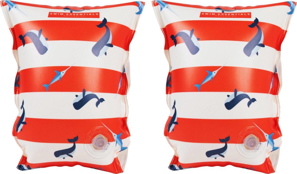 Swim Essentials Walvis Zwembandjes 2-6 jaar