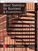 Boek cover ISE Basic Statistics for Business and Economics van Douglas Lind