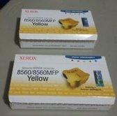 Xerox Originele Solid Ink geel (6 blokjes) ALLEEN VOOR PAGEPACK-VERSIES VAN 8550/8560/8560MFP