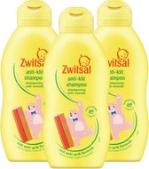 Zwitsal - Anti-klit Shampoo Beestenboel - 3 x 200ml - 3-Pack Voordeelverpakking