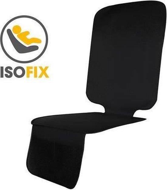 Afbeelding van Autostoelhoes - Autostoelbeschermer - Autostoel beschermer - Zwart