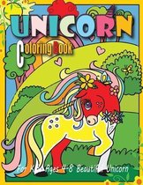 Unicorn Coloring Book For Kids Ages 4-8 Beautiful Unicorn