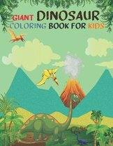Giant Dinosaur Coloring Book For Kids