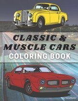 Classic and Muscle Cars Coloring Book