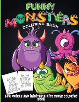 Funny Monsters Coloring Book