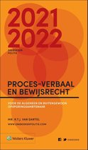 Zakboek Proces-verbaal en Bewijsrecht 2021-2022