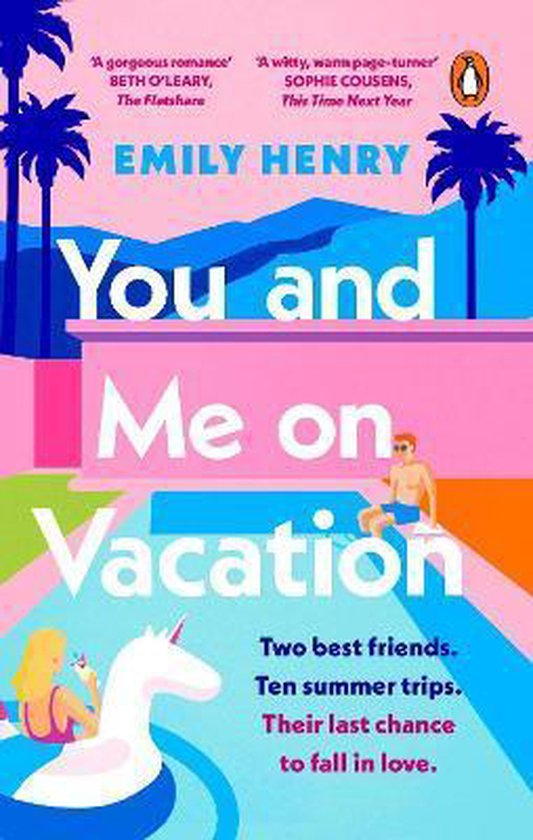 Boek cover You and Me on Vacation van Emily Henry (Paperback)
