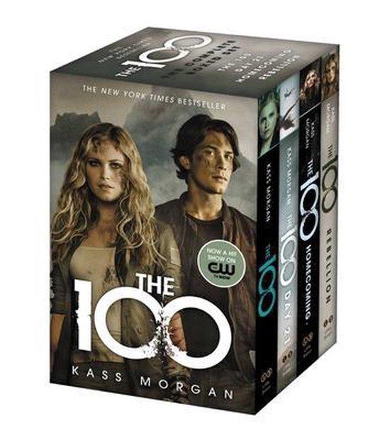 Boek cover The 100 Complete Boxed Set van Kass Morgan (Onbekend)