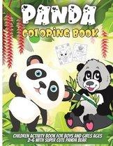 Panda Coloring Book
