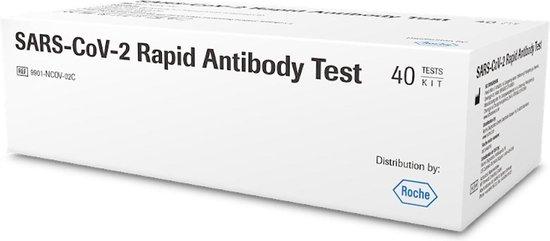 Roche SARS-CoV-2 Rapid Antigen Test Nasal (ondiepe neustest) per stuk verpakt
