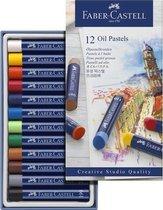 Oliepastels Faber Castell Creative Studio etui a 12 stuks