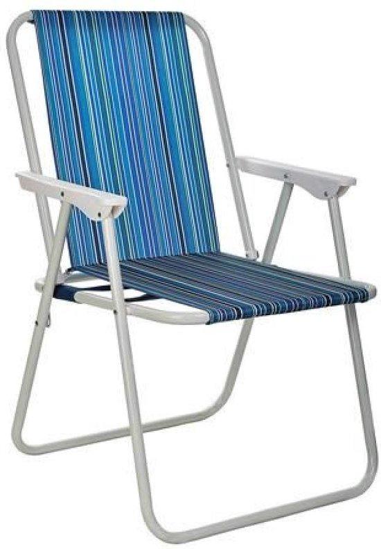 Camping/Tuinstoel terrasstoel klapstoel - Weerbestendig - Lichtgewicht