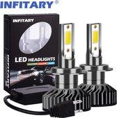Infitary H7 LED Lamp - CANbus - Wit - 72W - Koplampen - 2 Stuks