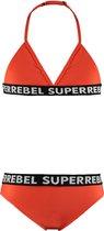 SuperRebel Kids Meisjes Bikini - Maat 14/164