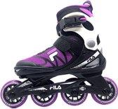 Fila J-ONE Kinder inline skates verstelbare skeelers 36/40 - black / magenta - Maat 36/40