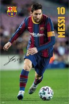 Lionel Messi poster voetbal FC Barcelona 61 x 91.5 cm.