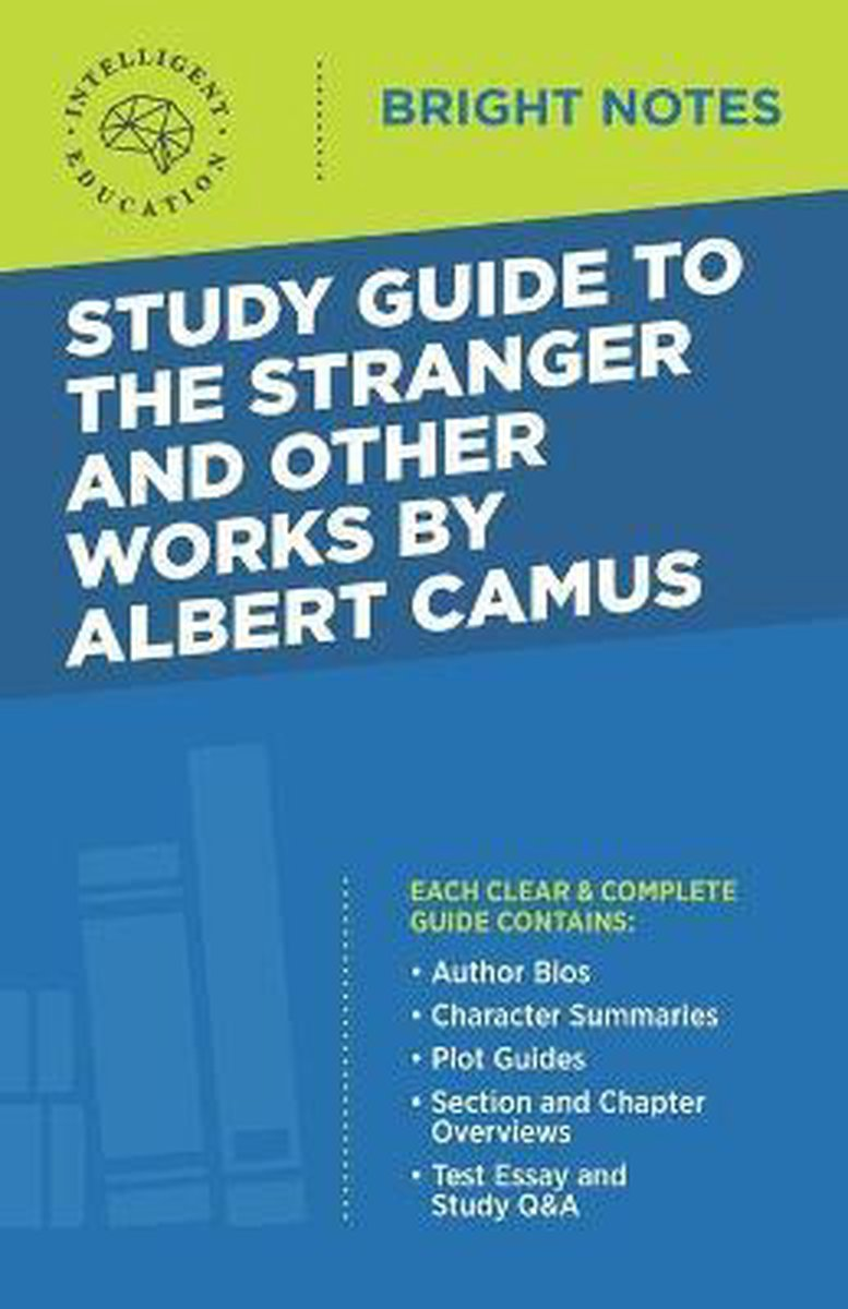 Study Guide to The Stranger and Other Works by Albert Camus