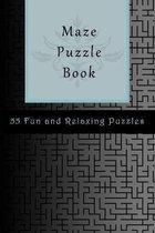 Maze Puzzles Book