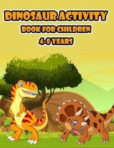 Dinosaur Activity Book for Kids 4-8 years