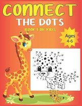 Connect The Dots Book For Kids Ages 4-6