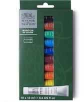 Winsor & Newton Winton Oil Colour 10x12ml Beginners set