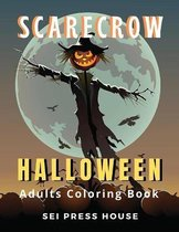 Scarecrow Halloween Adults Coloring Book