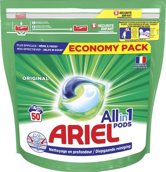 Ariel All-in-1 Pods Original - 50 Wasbeurten - Wasmiddel Pods