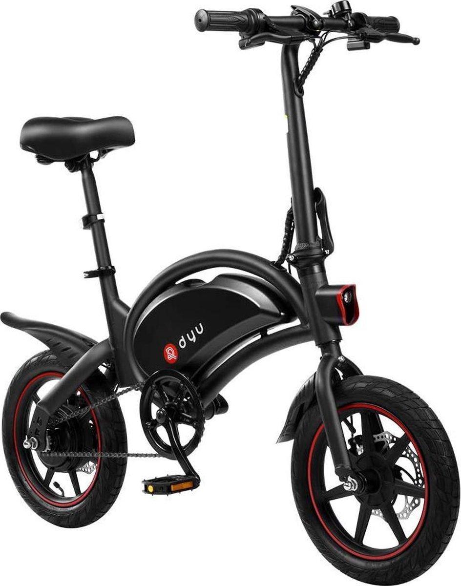 Gutos DYU D3F opvouwbare elektrische fiets, slimme mountainbike voor volwassenen, 240W aluminiumlege