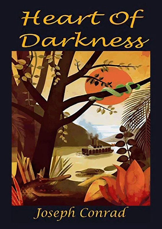 Boek cover Heart of Darkness van Joseph Conrad
