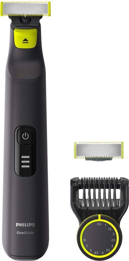 Philips OneBlade Pro QP6530/31 - Trimmer, scheerapparaat en styler