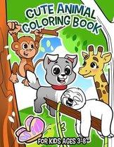 Cute Animal Coloring Book