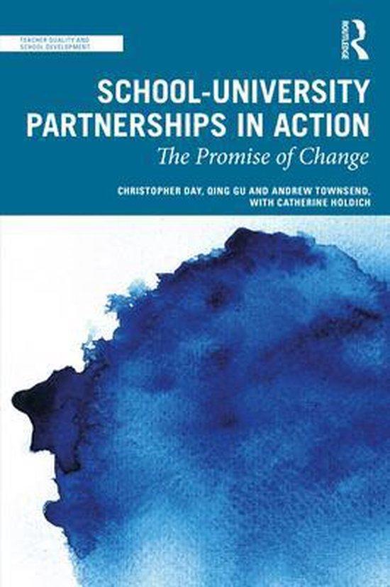 Boek cover School-University Partnerships in Action van Christopher Day (Paperback)