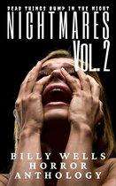 Omslag Nightmares- Volume 2- A Billy Wells Horror Anthology