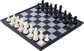 Luxe Schaakbord - Inklapbare Schaakbord - Magnetische Schaakbord - Professionele Kunststof Schaakbord – 32x32cm