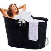 Zitbad Voor Volwassenen - Bath Bucket - Zwart - 200L