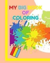 My big book of coloring