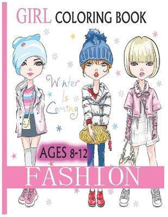 Fashion Coloring Book For girls 8-12