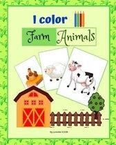I color Farm Animals