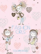 Fashion Girls Coloring Book