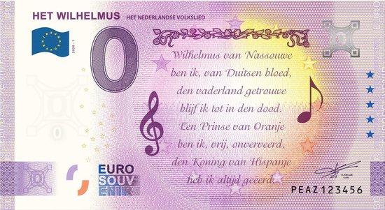 Afbeelding van het spel 0 Euro Biljet 2020 - Het Wilhelmus