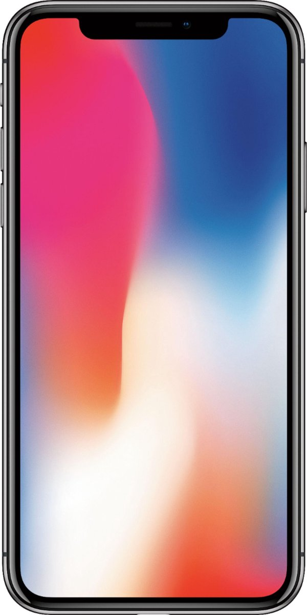 Apple iPhone X - Gerenoveerd door SUPREME MOBILE - B GRADE - Volledig ontgrendeld - 64 GB - Ruimte Grijs